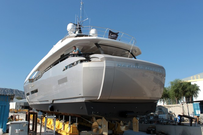 Peri 37 Hakuna Matata superyacht by Peri Yachts launch 1