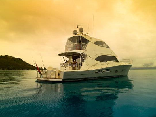 In-house designed Riviera 70 Enclosed Flybridge superyacht is considered to ...