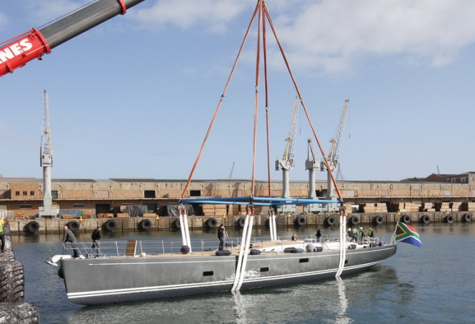 SW 100 RS Sailing yacht Mrs Marietta Cube launched by Southern Wind