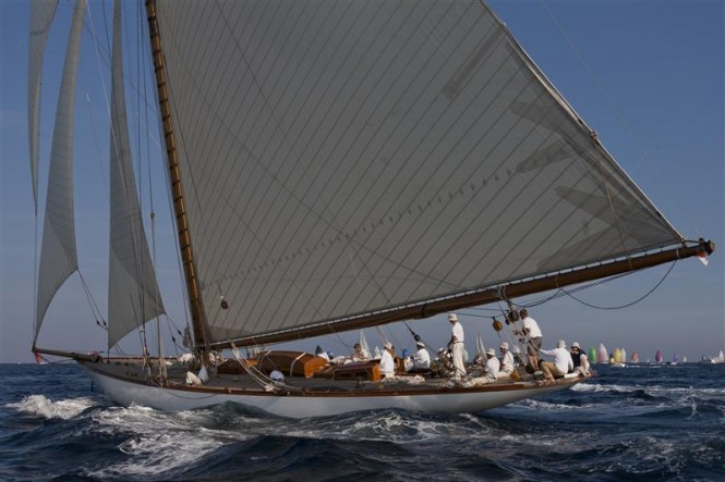 Sail yacht CAMBRIA - Photo By Rolex  Carlo Borlenghi