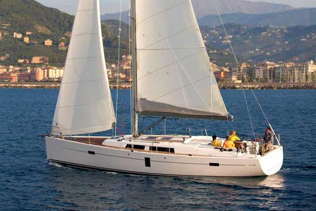 Sailing Yacht Hanse 445. Hanse Yachts is the inventor of the Individual ...