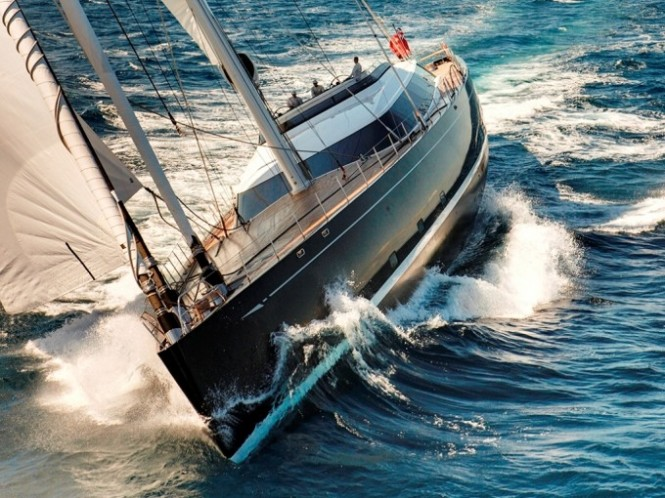 Sailing Yacht KOKOMO also available for luxury yacht charter