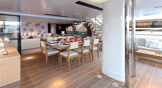 Sailing Yacht Twizzle designed by Dubois Naval Architects - styled by Redman Whiteley Dixon