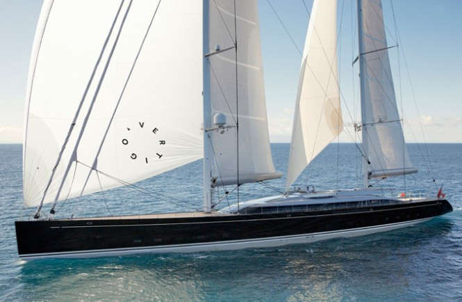 Sailing Yacht Vertigo - designed by Philippe Briand and launched by Alloy Yachts