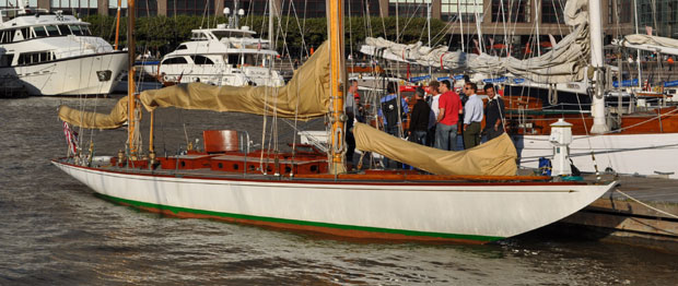 Sailing yacht Bernice won the Concurs d'Elegance 2011