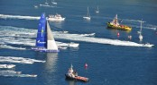 Sailing yacht Esimit Europa 2 wins 43rd Barcolana Regatta - the Largest Regatta in the World