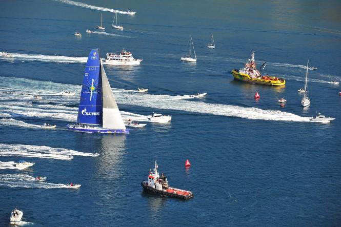 Sailing yacht Esimit Europa 2 wins 43rd Barcolana Regatta - the Largest Regatta in the World