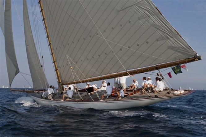 Sailing yacht MARISKA - Photo By Rolex  Carlo Borlenghi