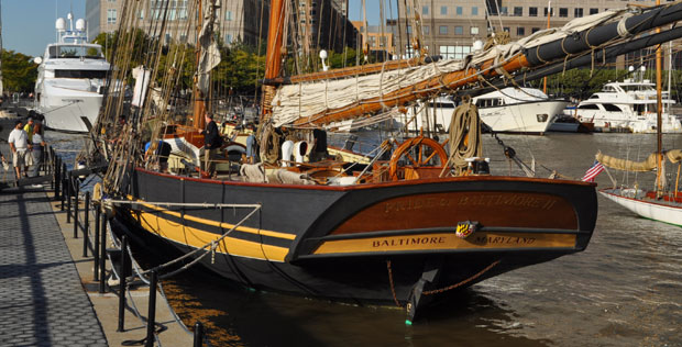 Sailing yacht Pride of Baltimore II