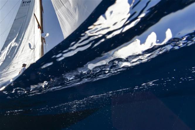 Sailing yacht ROWDY - Photo By Rolex  Carlo Borlenghi