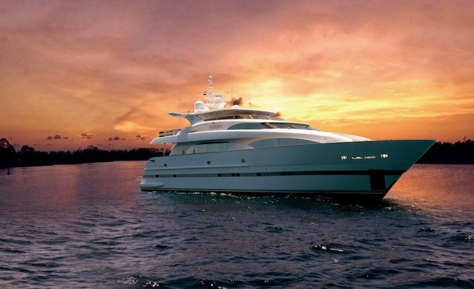 Sistership to the Horizon RP 120 yacht