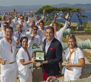 Les Voiles de Saint-Tropez: Sailing yacht Avel wins Rolex Trophy in St Tropez