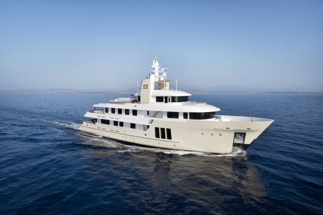 Stunning charter expedition yacht E&E (ex Jasmin II) by Cizgi Yachts and deisigned by Vripack
