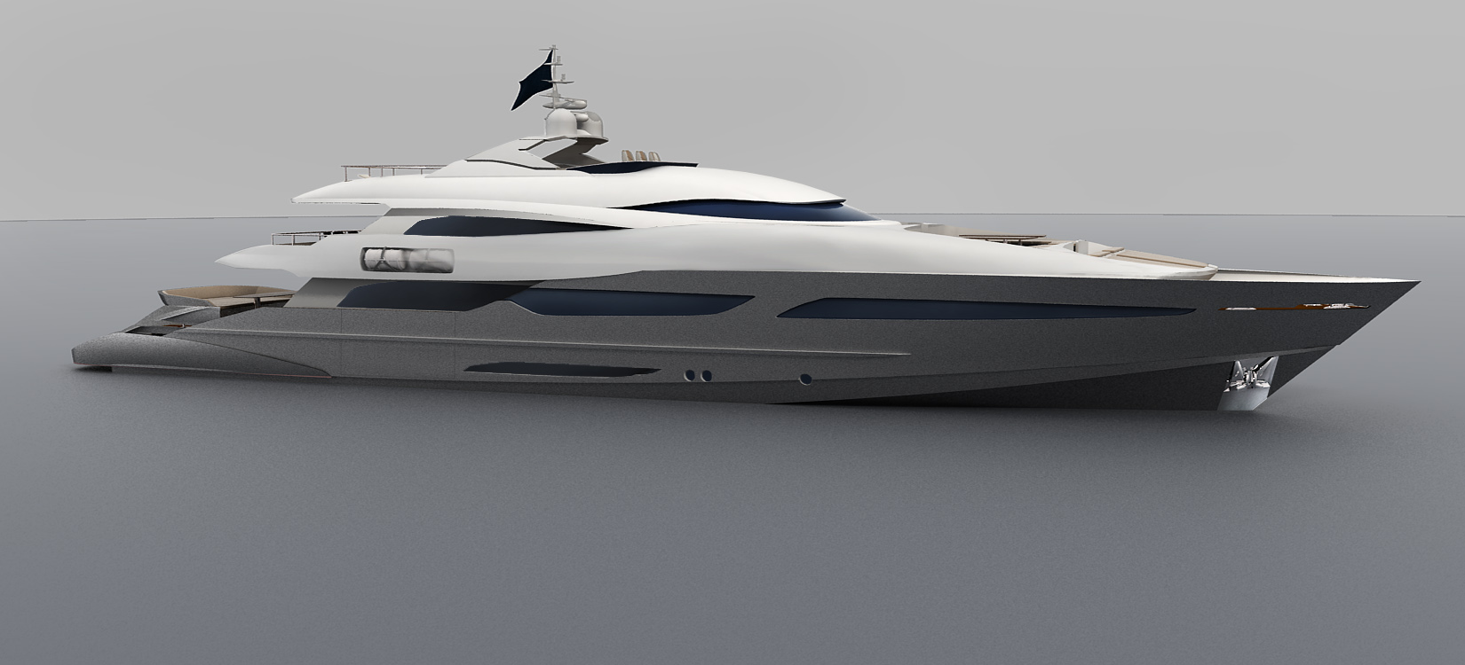 super yacht 650 quadro by nedship
