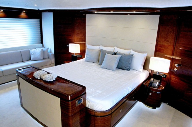 Superyacht Lady Gaga Owner Suite