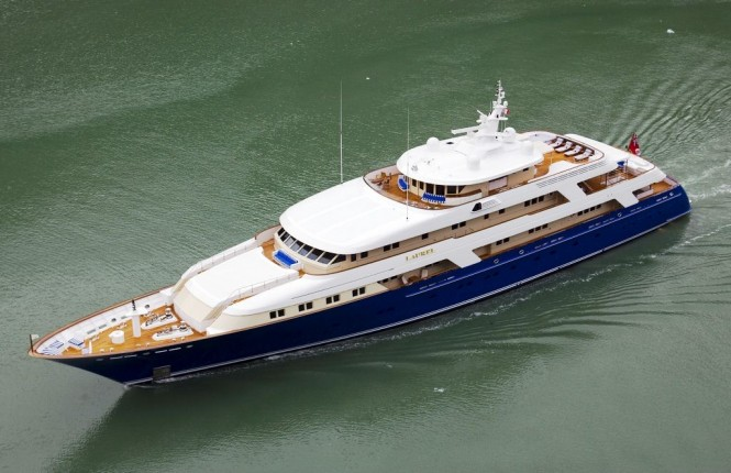 Superyacht Laurel by Delta Marine
