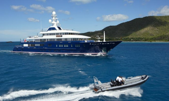 Superyacht Northern Star - Credit Motor yacht Northern Star