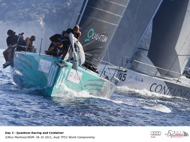 06 10 2011, Audi TP52 World Championship © Nico Martinez/WSM