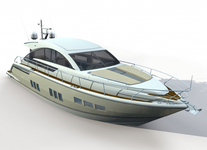Targa 58 GT express cruiser by Fairline. Offering high resistance to UV, ...