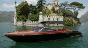 The Aquariva Cento motor yacht, designed by Officina Italiana Design
