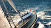 The stunning sailing yacht Kokomo by Dubois Naval Architects - available for luxury yacht charters