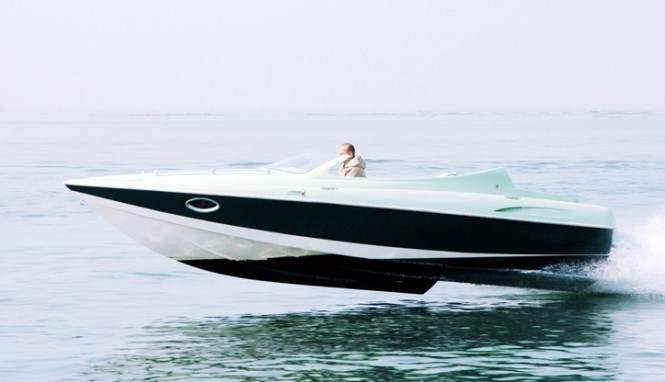 Yacht tender GOTCHA designed by Hot Lab