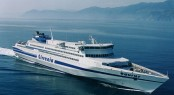 146m fast ferry Capricorn to be converted into a luxury superyacht  - Photo of Capricorn sistership - Credit Tirrenia
