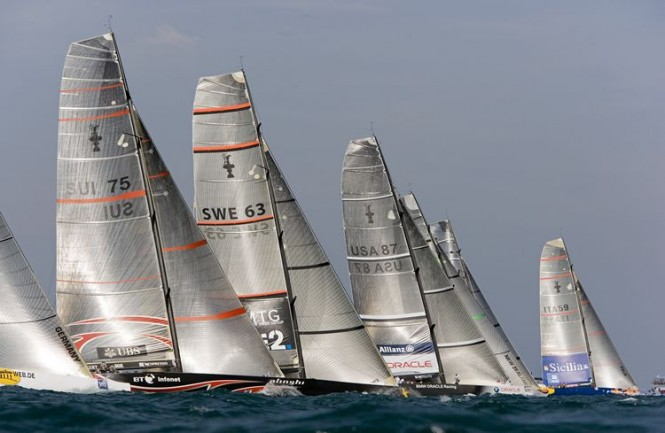 34th America´s Cup - San Francisco Bay