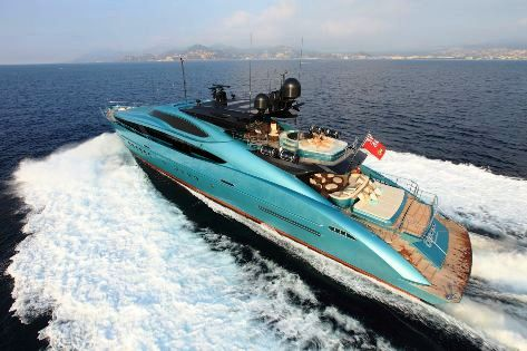 45.7m luxury yacht BLUE ICE by Palmer Johnson Yachts
