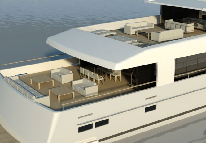 45m Trideck Benetti Sail Division motor yacht Logica