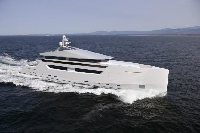 49m Nick Mezas motor yacht concept