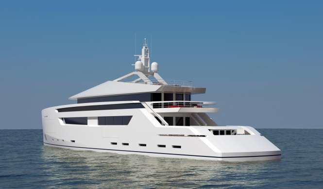 49m luxury yacht by Nick Mezas Yacht Design