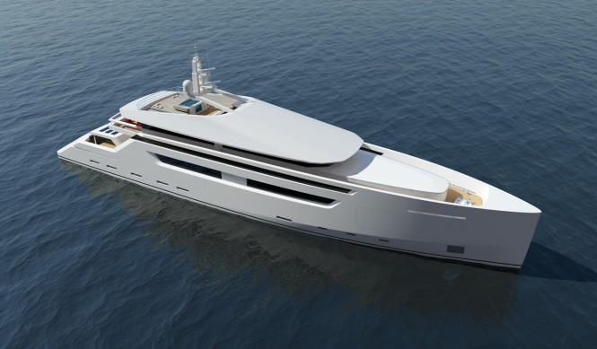 49m motor yacht design concept