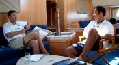 APS Indonesia Richard Loftshouse and Superyacht Captain in Bali
