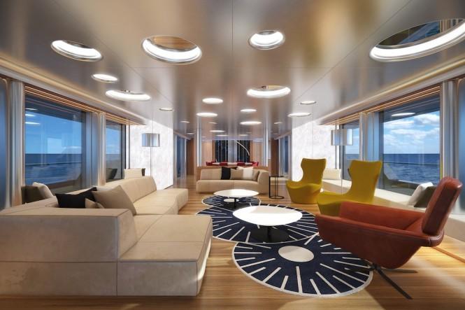 Aquos Yachts 50m Luxury Motor Yacht STAR FISH - Main Saloon