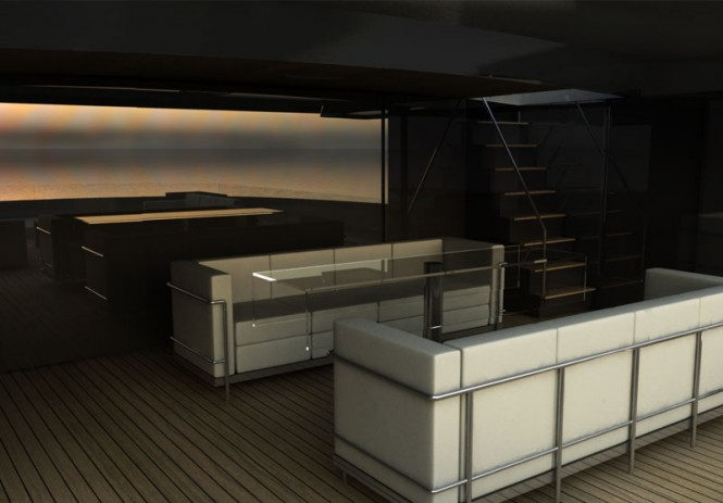 BSD147 Super Yacht Logica´s luxury interior