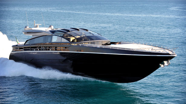 Baia 31m luxury yachts Argonauts and Katara III have a GRP hull and ...