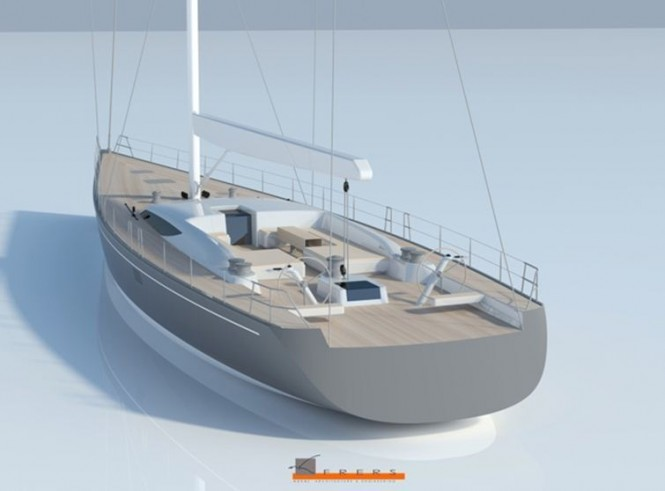 Baltic 107 Custom Sailing yacht in build at Baltic Yachts to be delivered in ...