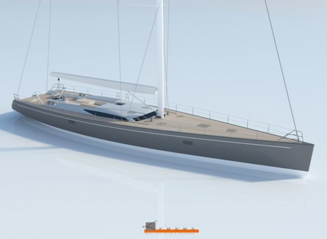 Baltic 107 Custom Sailing yacht by at Baltic Yachts