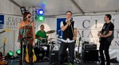 Band Kick entertained crowds at the Club Marine Carnivale of Colour