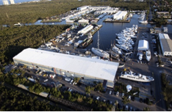 Broward Shipyard Facilities in Dania Beach in Florida
