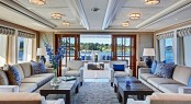 Calliope Superyacht´s luxury design by Bill Langan and Rhoades Young Design