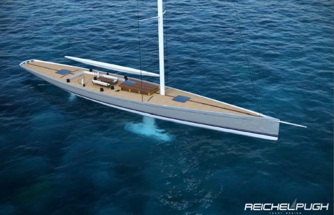 Classic Racer 115 superyacht - Credit Reichel Pugh Yacht Design