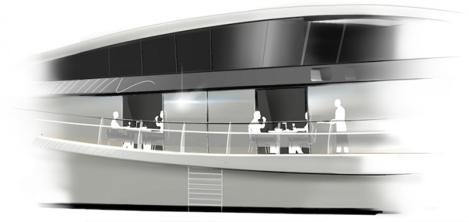 De Voogt Naval Architects designed Feadship QI yacht concept of 56 metres