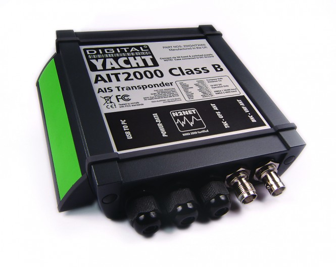 Digital Yachts new pint sized Class B AIS Transponder AIT2000