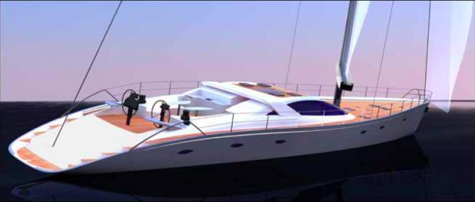 Erdevicki Superyacht Design DURABO sailing yacht of 110ft