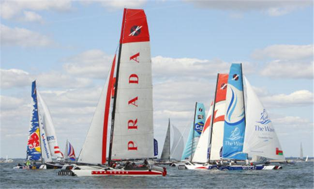 Extreme Sailing Series 2011 heads to Singapore for last Act on Marina Bay waters