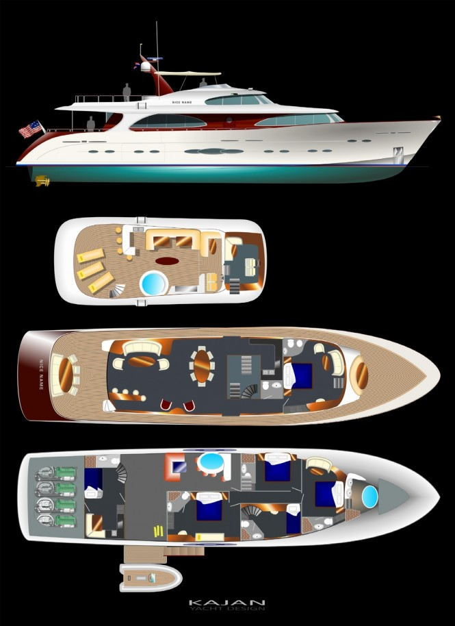 Grand Bay 100´ super yacht ELEGANCE