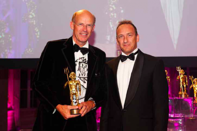 Hoek Design Awarded the Golden Neptune for the 43m sailing yacht LIONHEART