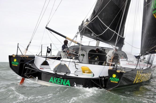 IMOCA Open 60 sailing yacht Akena Veradas